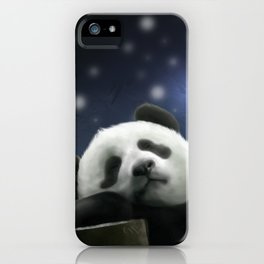 Sleeping Panda iPhone Case