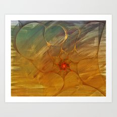 Center of a Cyclone Art Print