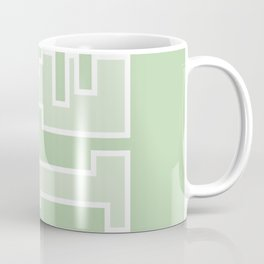 Green // Key Blade Coffee Mug