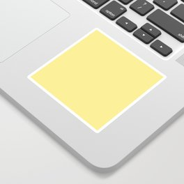 Daffodil Yellow - Solid Color Collection Sticker