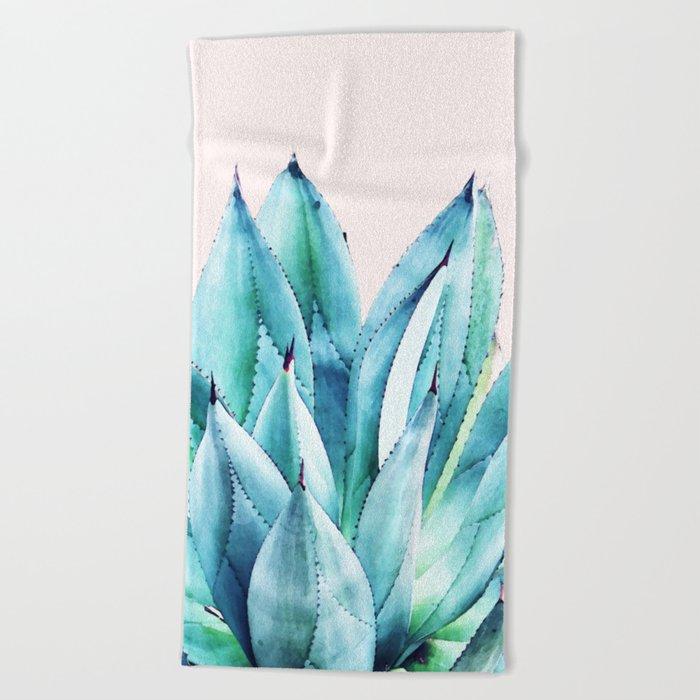 Agave Vibe #society6 #artprints #buyart Beach Towel