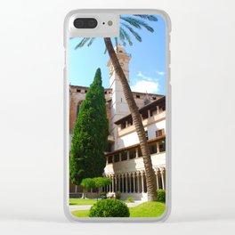 Basilica de Sant Francesc - Palma de Mallorca Spain Clear iPhone Case