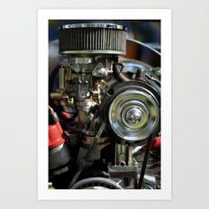 VW BUG Art Print