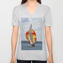 Sailing Unisex V-Neck