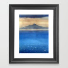 Fuji-san (富士山) original version Framed Art Print