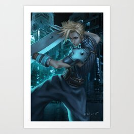 cloud! Art Print