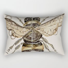 The Elizabethan Bee Rectangular Pillow