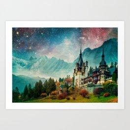 Faerytale Castle Art Print