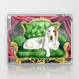 Royal Basset Hound Laptop & iPad Skin