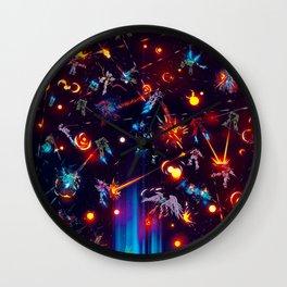 Space Battle Wall Clock