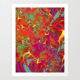 Festive Musings Art Print