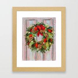 The Wreath Framed Art Print