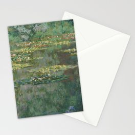Monet - Water Lily Pond (Le Bassin Des Nympheas) Stationery Cards