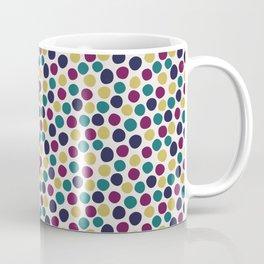 multi-coloured spot coordinate Coffee Mug
