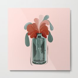 Magic Bottle Metal Print