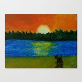 Visayan Sunset Canvas Print