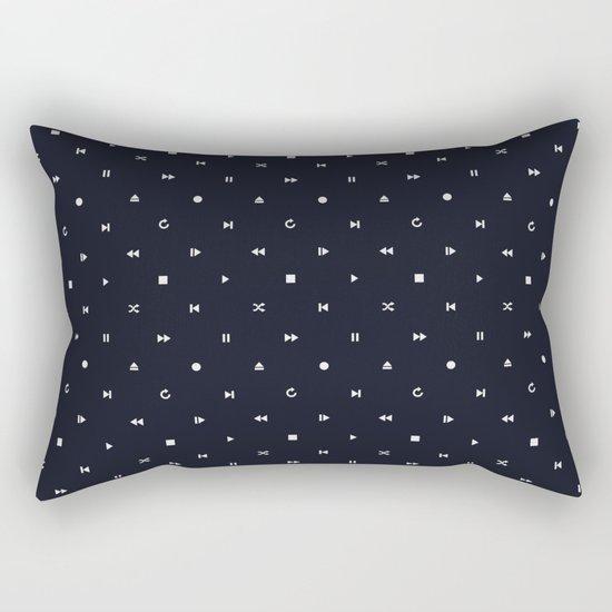Controls Rectangular Pillow
