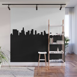 Los Angeles Shadow Wall Mural