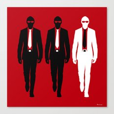 Threemen Canvas Print