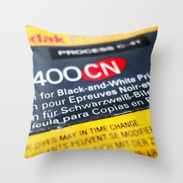 analogue 004 Throw Pillow