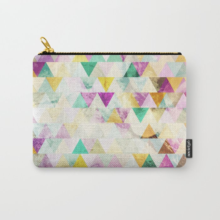 Triangles madness Carry-All Pouch
