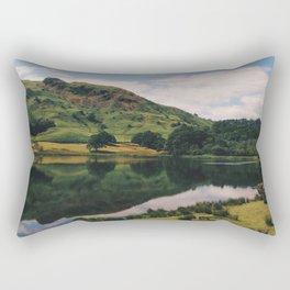 Reflecting Lake Rectangular Pillow
