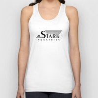 stark Tank Tops featuring Stark Industries by jasonschaefer