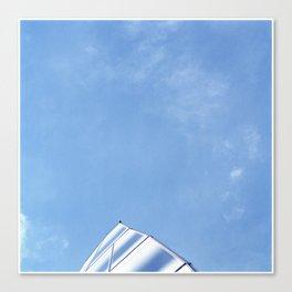 Frank Gehry - Shark fin Canvas Print
