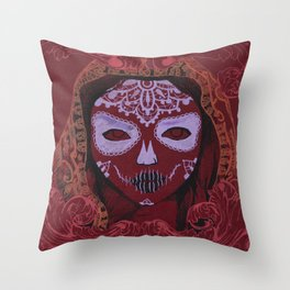 young death Throw Pillow