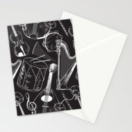 Classical Music Stationery Cards