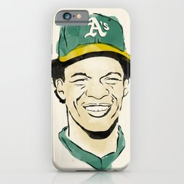 "Rickey ""The Man of Steal"" Henderson iPhone Case"