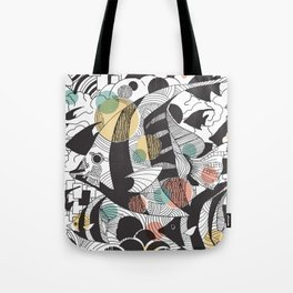 Fly Fish II Tote Bag