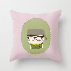 sam shakusky | moonrise kingdom Throw Pillow