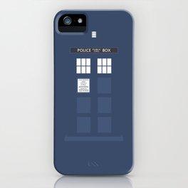 Tardis ( Doctor Who ) iPhone Case