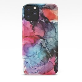 Darkness to Dawn - Mixed Media Painting iPhone Case