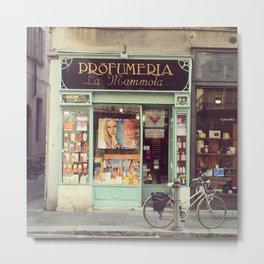Profumeria Parma Metal Print