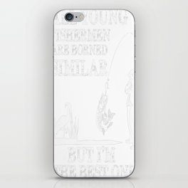 all young fishermen iPhone Skin