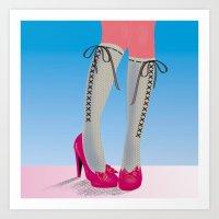socks Art Prints featuring Socks by Heidi Sturgess