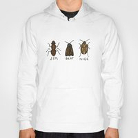 bugs Hoodies featuring bugs. by MorningMajor