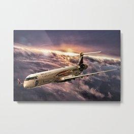 Aviación Sin Fronteras - Air Nostrum Metal Print