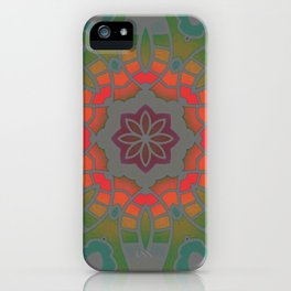 Fun with Coloring Infared Style 2 iPhone Case