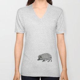 Funny Hedgehog SK050 Unisex V-Neck