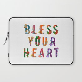 Bless Your Heart Meaning Southern Insult Humor Laptop Sleeve