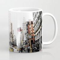 Desaturated New York Mug
