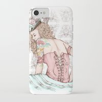 marie antoinette iPhone & iPod Cases featuring Marie Antoinette by Frances Louw