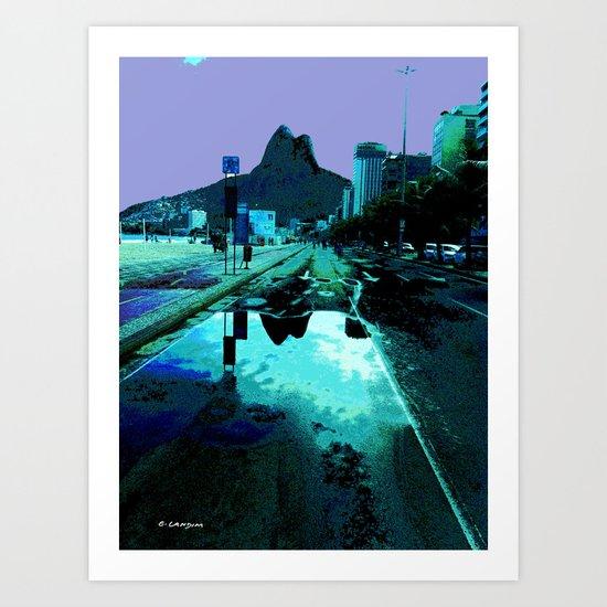 Leblon Art Print