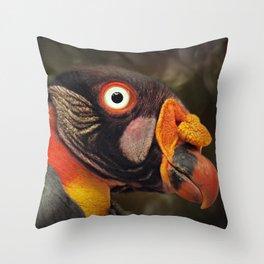 Sarcoramphus papa Throw Pillow