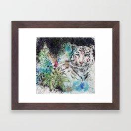 Noches de Laguna Framed Art Print
