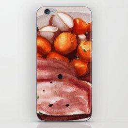 Cornbeef and Cabbage iPhone Skin