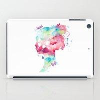selfie iPad Cases featuring SELFIE by L'Atelier de Magie